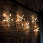 Kunstfærdig LED-lyskæde 5-takket-stjerne