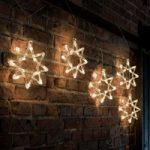 Jule-LED-lyskæde 8-takket-stjerne