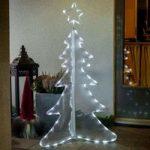 Tredimensionalt LED-træ 120 cm