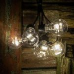 Lyskæde m. LED-LM glødepæreoptik varmhvid