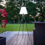 Nerea – standerlampe med konisk skærm