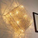 Kvadratisk væglampe Quadro 48 x 48 cm