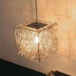 Terningeformet hængelampe Qubetto