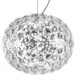Transparent LED designer pendellampe Planet