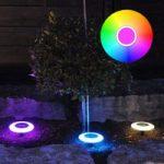 MiPow Playbulb LED-dekolampe, solceller, 3'er sæt