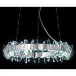 EOS ringformet LED-pendellampe med glas