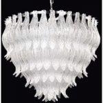PETALI den attraktive loftslampe af Muranoglas