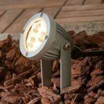 LED jordspydslampe Sendling i trykstøbt aluminium