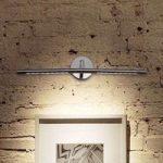 Drejelig LED-billedlampe Siena krom