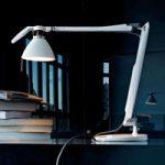 LED skrivebordslampe Fortebraccio med LED, hvid
