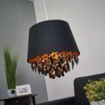 Hængelampe Dolti med sort vedhæng