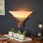 Væglampe Canna med et afrikansk strejf