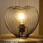 Romantisk virkende bordlampe Wirio
