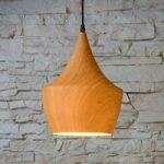 Woody – trendy pendellampe i træ-design