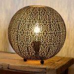 Bordlampen Tahar i orientalsk design