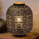 Bordlampen Tahar med orientalsk charme