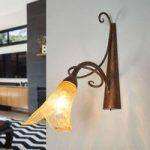 Riccardo blomsterformet væglampe