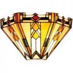 Madison – moderne væglampe i Tiffany-stil