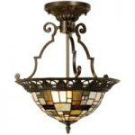 Villads – loftslampe i Tiffany-stil