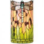 Ena – væglampe i Tiffany-stil