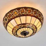 Wilma – loftslampe i Tiffany-stil
