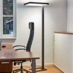 Kontor-LED-gulvlampe Lola, 4.000 K, DALI