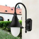 Den stilfulde udendørslampe Miranda, sort