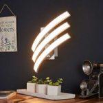 LED-væglampe Largo med 3 lyskilder
