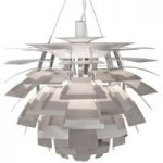 Louis Poulsen PH Artichoke – hængelampe, poleret