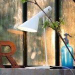 Louis Poulsen AJ – designer bordlampe, hvid