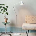 Louis Poulsen NJP – LED-gulvlampe, hvid