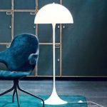 Louis Poulsen Panthella – design standerlampe opal