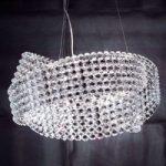 DIAMANTE fortryllende krystal-pendellampe