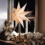 Smuk stjerne Solvalla som bord 46 x 64 cm