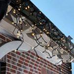 Ekstra LED lysnet Chrissline m. 100 lys, varmhvid