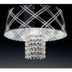 Elegant loftslampe MEDUSA 30, 1 lyskilde, sort