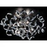 Strålende loftlampe Silver