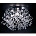 Førsteklasses loftslampe Crystal, 70 cm