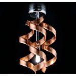 Enkel loftlampe Copper