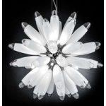 Kugleformet hængelampe Flo, 85 cm