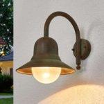 Antikt designet udendørsvæglampe Marquesa
