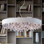 OLA S6 90 virkningsfuld hængelampe hvid kulørt