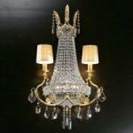 Valyria – fortryllende krystalvæglampe