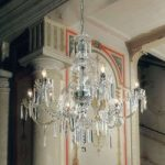 Victoriana betagende lysekrone, glas