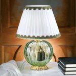 Maureen køn bordlampe med muranoglas
