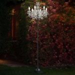 RGBW udendørs standerlampe Drylight – via app