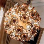 VIE EN ROSE kunstfærdig LED-pendellampe
