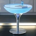 LOUNGE Table LED Pro flerfarvet lysende bord, 75cm