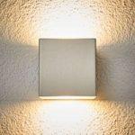 LED-udendørsvæglampe Jana af rustfrit stål