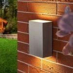 Puristisk LED-væglampe Jana til udendørs – IP54